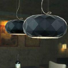 New Modern design Black White Glass Shade Pendant Lamp Ceiling Lighting fixture