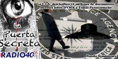 Los últimos «expedientes X» desclasificados por la CIA En pleno traspaso de gobierno de Obama a trump ha sido casual que esto se produzca ahora El archivo abarca toda la extensa historia de la agencia de inteligencia de EEUU, desde sus inicios hasta la década de 1990.   #CIA #desclasificacion #Documentos #ovnis #platillos volantes #Star Gate #telequinesis #Uri Geller #vision remota