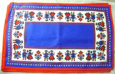 Austrian Folk Art Fabric