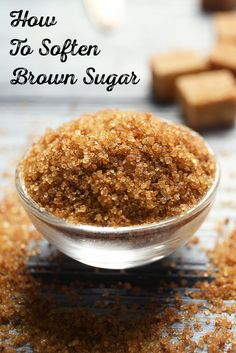 Don't let your brown sugar go to waste! Bring hard and lumpy brown sugar back to life with these simple tips and tricks. Cooking 101, Cooking Recipes, Cooking Turkey, Cooking Ideas, Soften Brown Sugar, Baking Tips, Baking Secrets, Baking Hacks, Cakes And More
