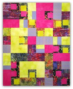 """Untitled top, 48x60"""", machine pieced,  unquilted."""