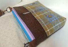 Harris Tweed Satchel / Messenger Bag