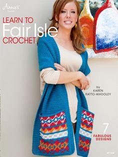 Maggie's Crochet · Learn to Fair Isle Crochet