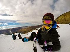 Hannah Teter in New Zealand from GoPro Facebook feed