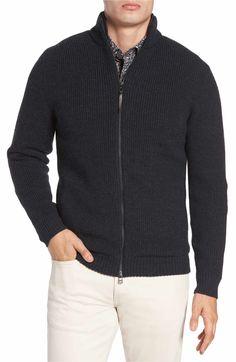 7140c5e4879f Main Image - Rodd   Gunn Camerons Track Zip Wool Sweater Wool Sweaters