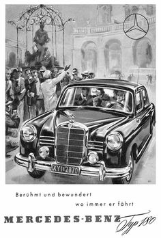 Mercedes E (1953) W120 Typ 180 Ponton berühmt by H2O74, via Flickr