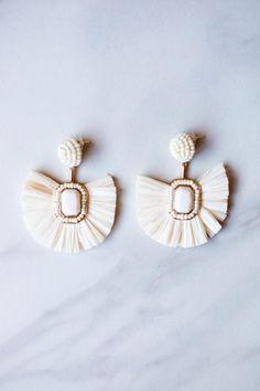 Cream Chica Earrings