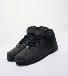 all black nike air force ones