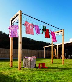 Pergola For Front Of House Outdoor Clothes Lines, Outdoor Projects, Diy Projects, Clothes Drying Racks, Pergola Lighting, Backyard Garden Design, Outdoor Living, Outdoor Decor, Garden Furniture
