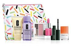 New 2016 Clinique 7PC Skincare Makeup Gift Set  Sweet Choice 70 Value >>> You can find out more details at the link of the image.