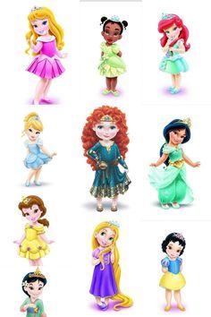 Disney princess toddlers SO CUTE