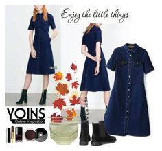 """yoins"" by elly-852 ❤ liked on Polyvore featuring Ulster Weavers and Chanel"