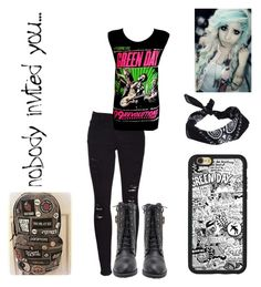 """""""GreenDayConcert"""" by x-2manybands-x ❤ liked on Polyvore featuring Frame and ASOS"""