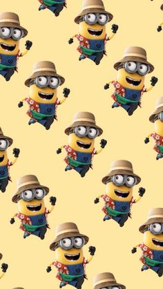 Minion Wallpaper Iphone, Simpson Wallpaper Iphone, Disney Wallpaper, Cartoon Wallpaper, Despicable Me Funny, Cute Minions, Minion Banana, Minions Images, Minions Quotes