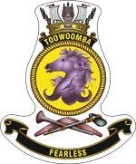HMAS Toowoomba (II) Badge Australian Defence Force, Royal Australian Navy, Ship Paintings, Emblem, Armada, Navy Ships, Crests, Royal Navy, Armed Forces