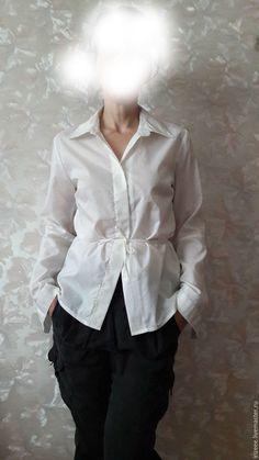 8a25bc1aeae Белая блузка - купить или заказать в интернет-магазине на Ярмарке Мастеров  - CJUAFRU.