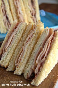 El Elena Ruth es el primer sándwich cubanoamericano. Aquí te traigo unas cuantas variaciones para internacionalizarlo aún más y saborearte.