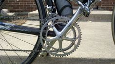 Campy Record Cranks and pedals. Cannon, Bicycles, Cycling, Guns, Vehicles, Car, Weapons Guns, Biking, Automobile