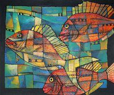Fishy by Tanya McCabe, via Behance