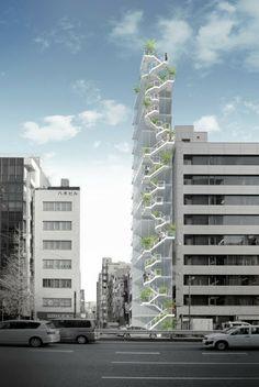 Sou Fujimoto - ginza building . tokyo #architecture