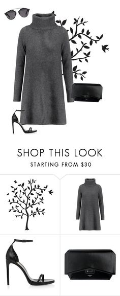 """""""Untitled #538"""" by sophiatsunis on Polyvore featuring Godinger, Madeleine Thompson, Yves Saint Laurent, Givenchy and Christian Dior"""