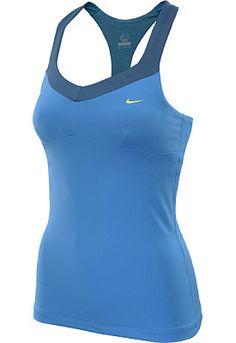NIKE Women's Maria Back Court Tennis Tank Top