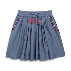 Jupe chambray MONOPRIX KIDS