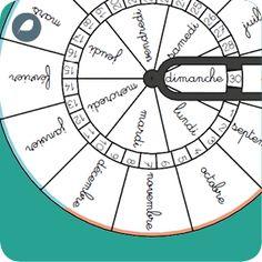 Alternatives: [Support pédagogique] La notion de temps // #2 Le temps cyclique > L'agenda perpétuel