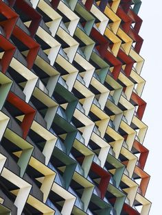 A'Beckett Apartment Tower, Melbourne, Australia. Elenberg Fraser Architects