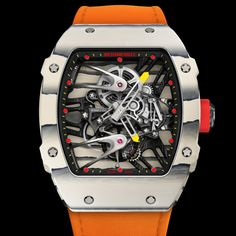 Rafael Nadal Plays In $775,000 Richard Mille RM 27-02 Watch At French Open