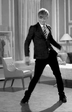 Tao, in a suit, dancing, what more can a fan ask for. I mean within decent reason.
