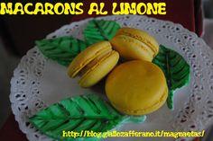 Macarons al limone