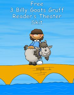 free three billy goats play script