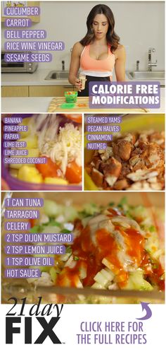 Trying to spice up your containers without packing on the calories? For more ideas, motivation and recipes, like my page https://www.facebook.com/achievingbalancetoday I do 21 Day Fix Challenge Groups every month!
