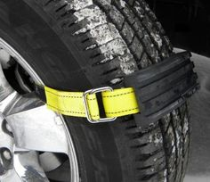 41f5a53a1fa65 Trac-Grabber Attaches To Your Car Tire To Get You Unstuck From Snow
