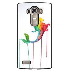 Ariel Melted Paint Phonecase Cover Case For LG G3 LG G4