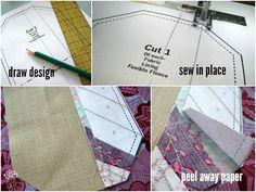 Mini Wallets - Scrap style - The Sewing Loft