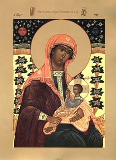 "Icon of the Mother of God the ""Milkgiver"" - Orthodox Church in America"