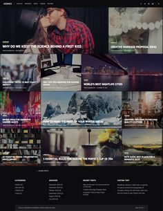 Hermes - WordPress Theme by Taras Dashkevych on Creative Market