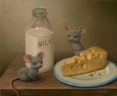 Mice with Dairy Products