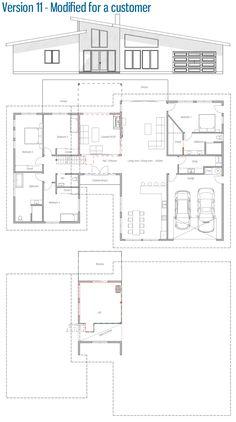 Customer House Plan, Modified Home Plan