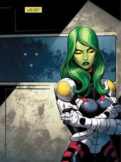 Guardians of the Galaxy #20 - Gamora by Valerio Schiti *
