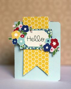 Eva Pizarro - Cards with gift inside. Using the Fresh Goods Collection