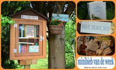 Nath's Little Free Library, minibieb van de week 28, bij Jet's Minibieb.