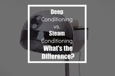 Do you deep condition or steam your #naturalhair?? -- https://theconfetticollective.com/deep-conditioning-vs-steam-conditioning-whats-the-difference/