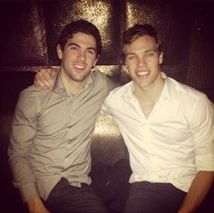 Justin Schultz and Taylor Hall are close friends, it seems. Good for them.