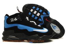 new concept 8a413 752c7 Nike Air Griffey Max 1 Black Blue Sale Nike Lebron, Lebron 11, Ken Griffey