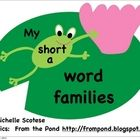 Free :) There are 8 short a word families: at, an, ag, ad, ab, am, ap, arEach word family has 5-9 frogs with the words written on them.The students wil...