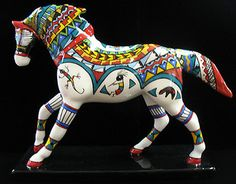 Trail of Painted Ponies MANY TRIBES HORSE Retired figure, 07/08
