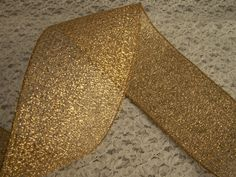 3 YARDS, Party Favor Ribbon,Metallic Gold,Fillable Ribbon,Decorative,Bridal,Bows